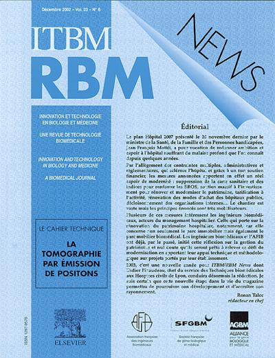 Abonnement IRBM NEWS
