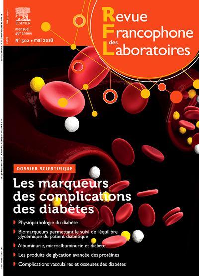 Abonnement magazine Revue Francophone Des Laboratoires