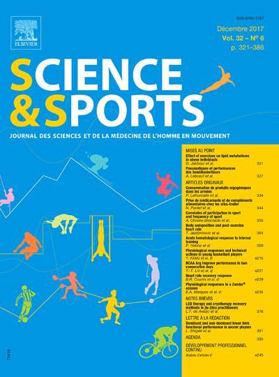 Science Et Sports - N°201906