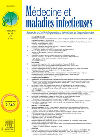 Médecine Maladies Infectieuses