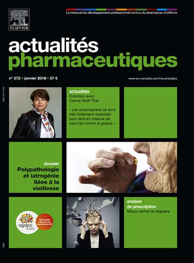 Actualites Pharmaceutiques (photo)