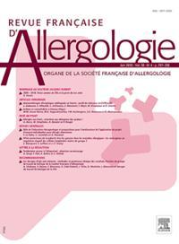 Revue Francaise D Allergologie
