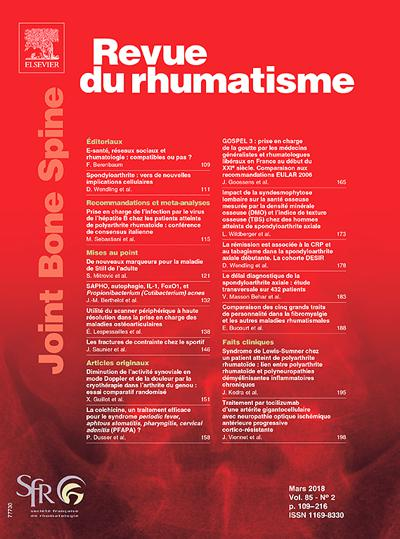 Revue Du Rhumatisme (photo)