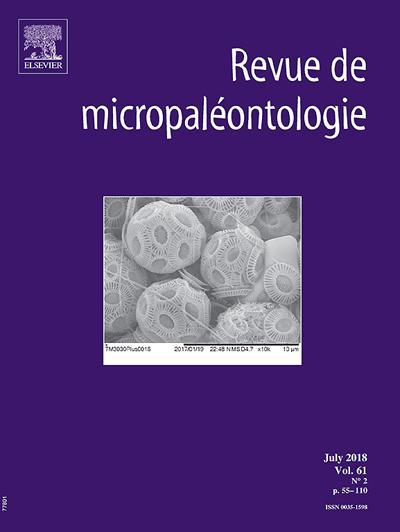 Abonnement Revue De Micropaleontologie