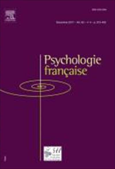 Abonnement Psychologie Francaise