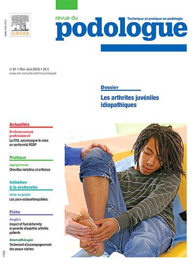 Abonnement Revue Du Podologue