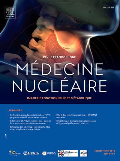 Médecine Nucleaire - N°3610