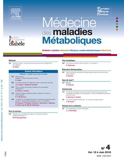 Médecine Des Maladies Métaboliques (photo)