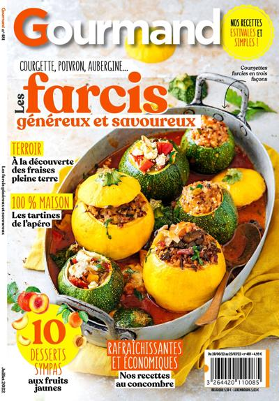 Abonnement magazine Gourmand