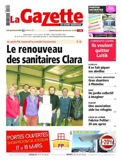 Gazette Du Centre Morbihan - N°2080