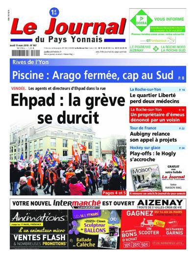 Abonnement Journal Du Pays Yonnais