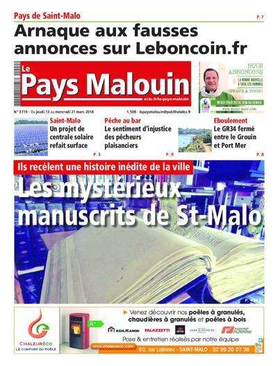 Abonnement magazine Le Pays Malouin