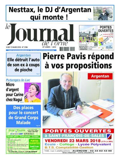 Le Journal De L'Orne - N°3337