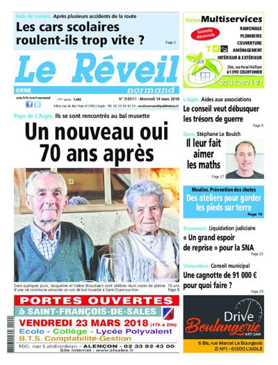 Le Reveil Normand - N°3321