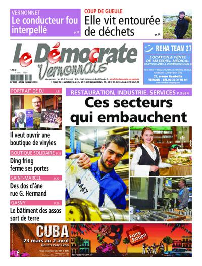 Le Democrate Vernonnais - N°3950