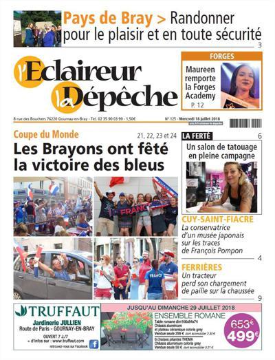 La Depeche Du Pays De Bray (photo)