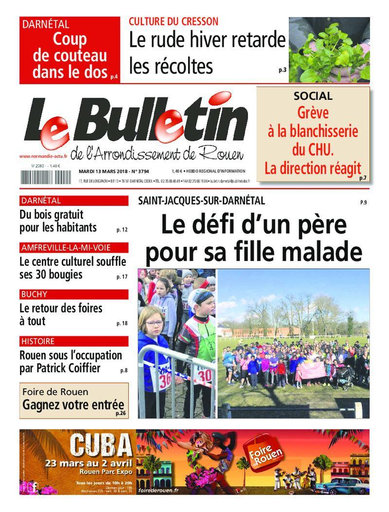 Le Bulletin de l'arrondissement de Rouen