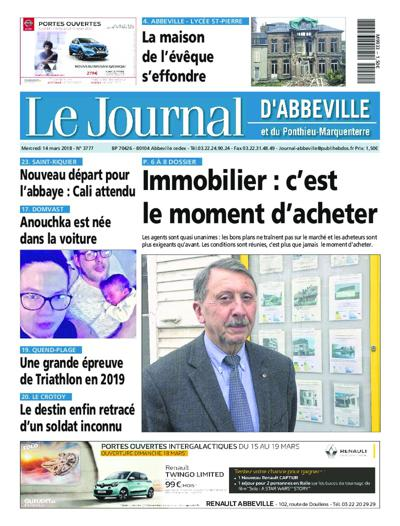 Le Journal D'Abbeville - N°3925