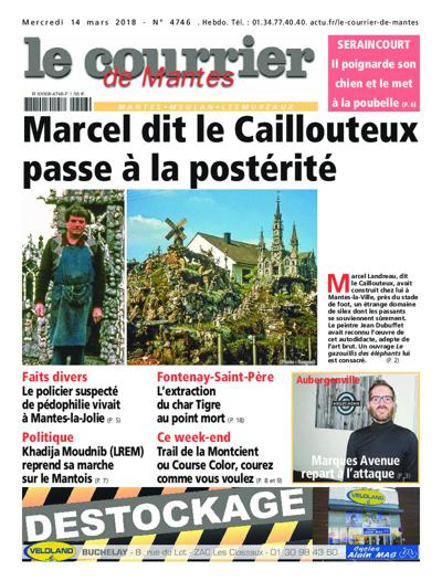 Le Courrier De Mantes - N°4833
