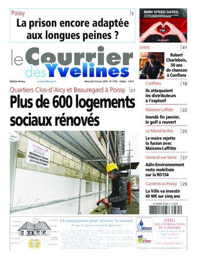 Le Courrier Des Yvelines - N°3939