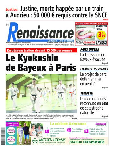 Abonnement magazine La Renaissance - Le Bessin