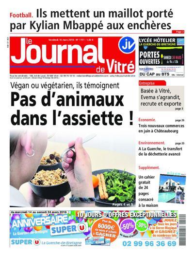Le Journal De Vitre - N°1239