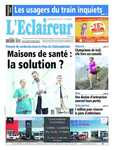 L'Eclaireur  De Chateaubriant - N°3638