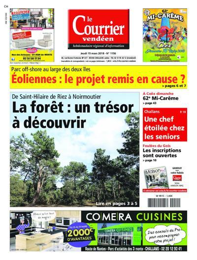Abonnement magazine Le Courrier Vendeen