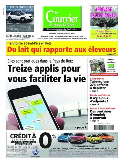 Abonnement magazine Le Courrier Du Pays De Retz