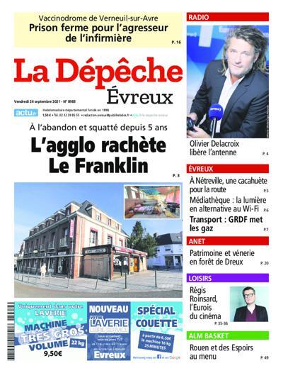 La Depeche (Evreux) - N°8934
