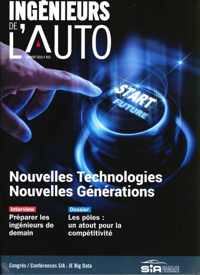 Abonnement magazine Ingénieurs de L'automobile