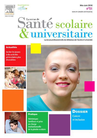 La Revue De Sante Scolaire Et Universitaire (photo)