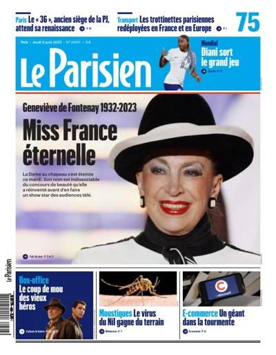 Abonnement magazine Le Parisien