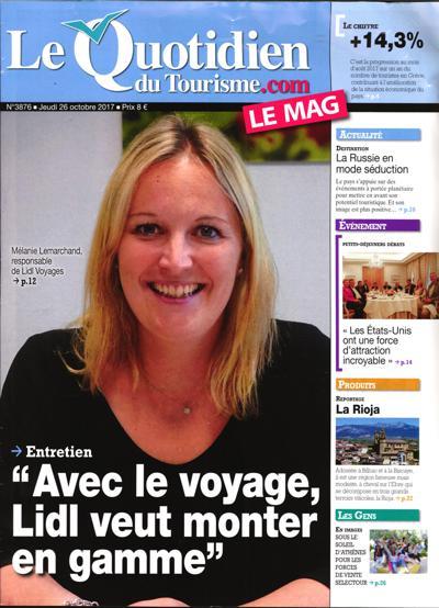 Le Quotidien Du Tourisme.Com Le Mag - N°3925
