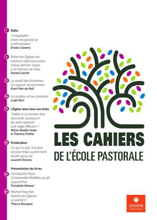 Les Cahiers De L'Ecole Pastorale