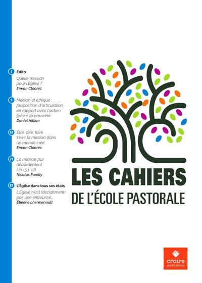 Abonnement Les Cahiers De L'Ecole Pastorale