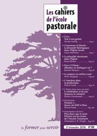 Les Cahiers De L'Ecole Pastorale N° 108