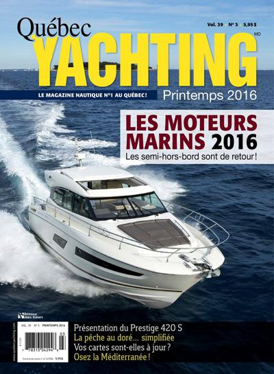 Abonnement Quebec Yachting