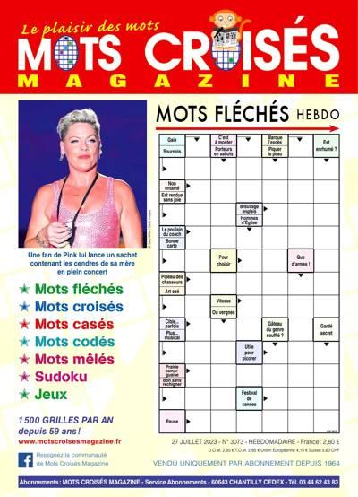 Abonnement magazine Mots Croisés Magazine
