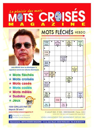 Mots Croisés Magazine (photo)