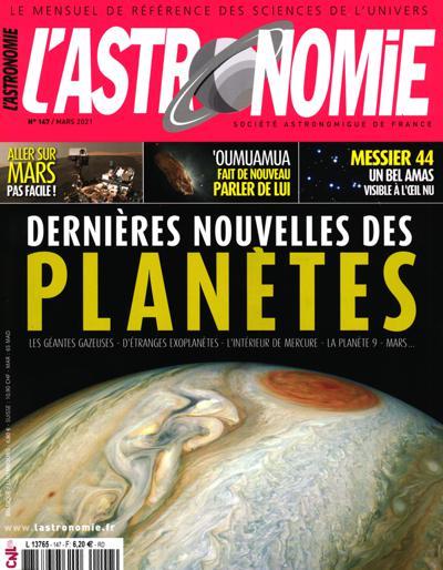 Abonnement L'Astronomie