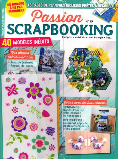 Abonnement Passion scrapbooking