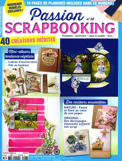 Abonnement magazine Passion scrapbooking