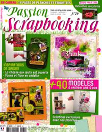 Passion scrapbooking N° 79
