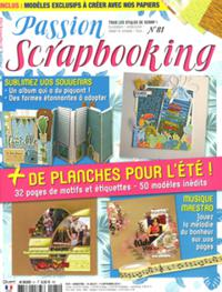 Passion scrapbooking N° 81