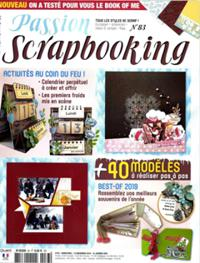 Passion scrapbooking N° 83