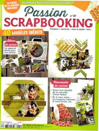 Passion scrapbooking N° 88