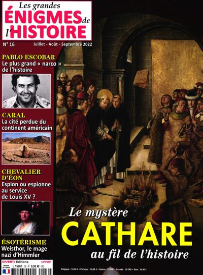 Abonnement magazine Les Grandes Enigmes de l'histoire