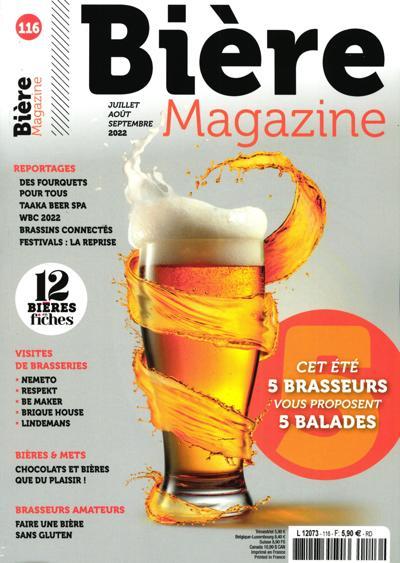 Abonnement Bière Magazine