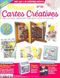 Passion Cartes Créatives N° 58